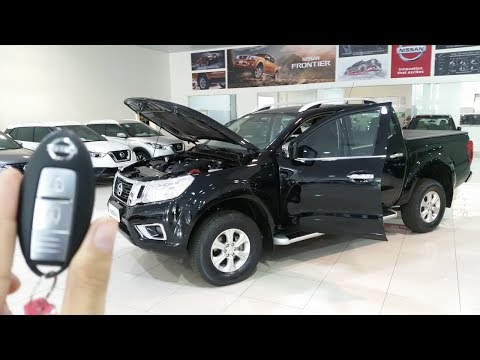 Nissan Frontier LE 2.3 Turbo 4X4 AT! (Review) Detalhes Interno e Externo.