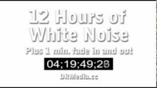 12 Hours Of White Noise Static In Stereo Favorite It For The Future Studying Sleep Tinnitus