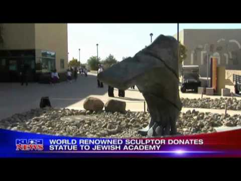 José Sacal Statue Donated to San Diego Jewish Academy News Coverage