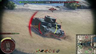 World of Tanks PS4 Sherman firefly Boilermaker natarcie .