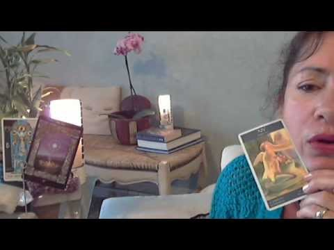 Tarot by AE Waite; Sacred Circle Tarot by Anna Franklin/Paul Mason