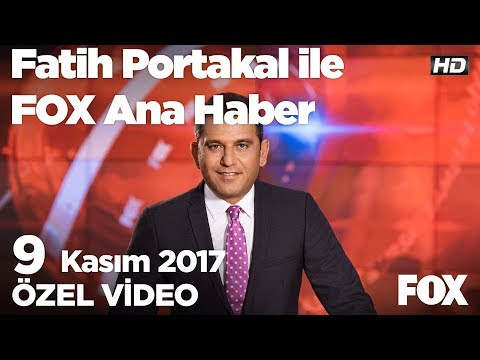 Abdullah Gül'den Ak Parti'yi kızdıran eleştiriler...9 Kasım 2017 Fatih Portakal ile FOX Ana Haber
