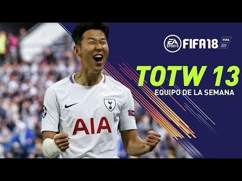 EQUIPO DE LA SEMANA #13 | PREDICCION TOTW FIFA 18 | SON, EL MISIL COREANO VUELVE