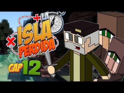 EL CEMENTERIO!! - Episodio 12 | LA ISLA PERDIDA | Minecraft Survival Mods Serie