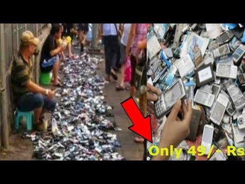 ☑️यह है भारत के चोर बाज़ार | Top LARGEST Thief Markets in INDIA