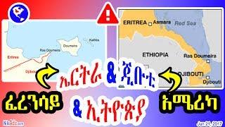 ኤርትራ እና ጂቡቲ - ኢትዮጵያ? ፈረንሳይ አሜሪካ - Eritrea and Djibouti - Ethiopia? America and France - DW