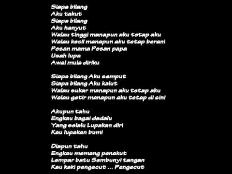 AKU TETAP AKU (with lyrics)