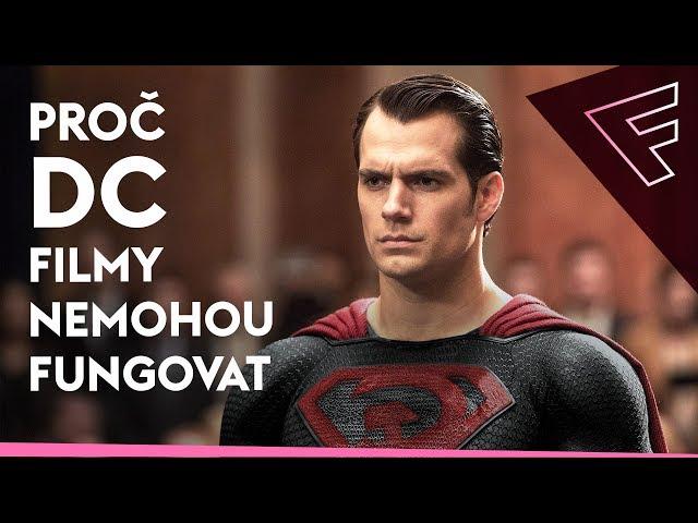 Proč DC filmy nemohou uspět a další Film News
