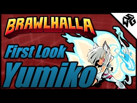 Yumiko First Look! - Brawlhalla Gameplay :: Patch 2.59