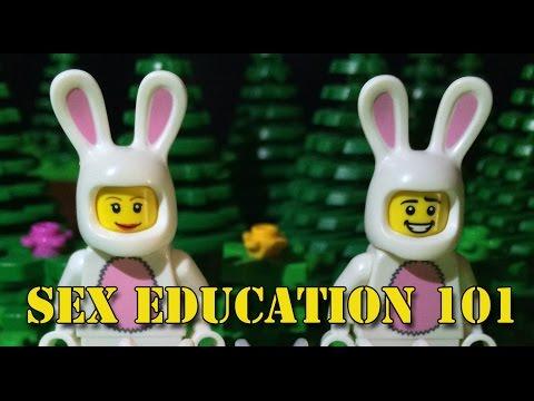 Lego Sex Education 101 (Lego stop-motion animation / brickfilm) comedy film
