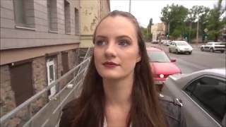 Woman wearing high heels comes back home and finds a very hot surprise