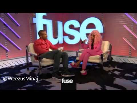 Nicki Minaj talks about Iggy Azalea