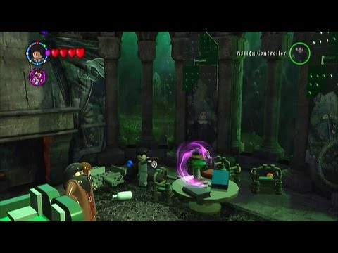 Lego Harry Potter Years 1-4 Walkthrough- Slytherin Common Room