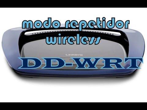 Configurar un router (DD-WRT) en modo repetidor puente para ampliar la red LAN