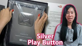 YouTube Silver Play Button Unboxing - Cambodia