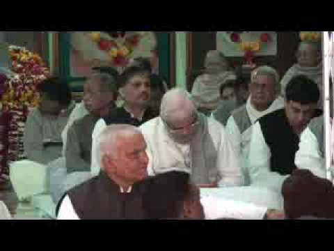 Jaanat Preeti Reeti Raghurai - Ramashram Satsang Mathura Bhajan - Mathura Bhandara video