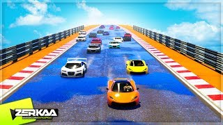 CRAZY 20+ PLAYER RACES (GTA 5)