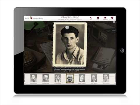 Jewish Holocaust Centre iPhone App Introduction