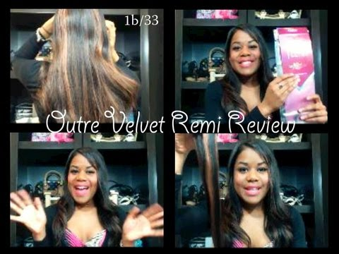 Outre Velvet Remi Hair Review