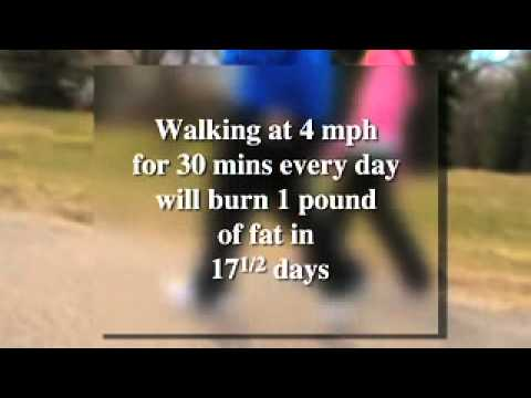 Health benefits of a walking program