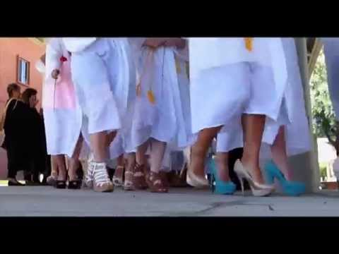 Carondelet High School Graduation 2014 - March of Shoes