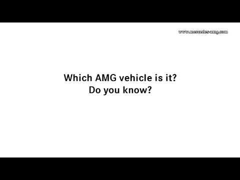 Which AMG Is It? Edition 4