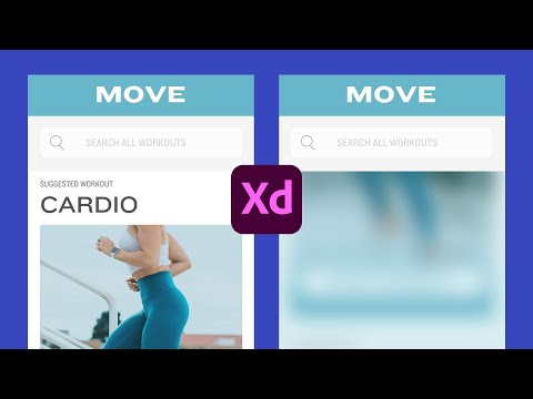 How to create fixed position when scrolling   Adobe XD Tutorial