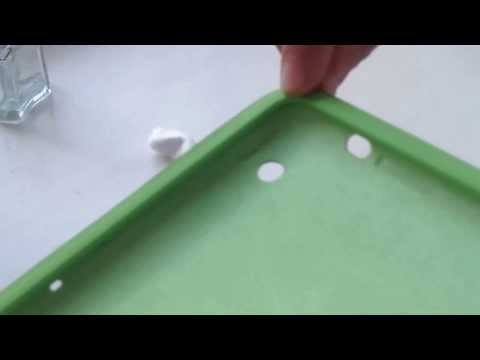 Как очистить запачканный силиконовый чехол для телефона