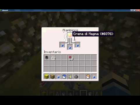 Come creare pozioni in minecraf