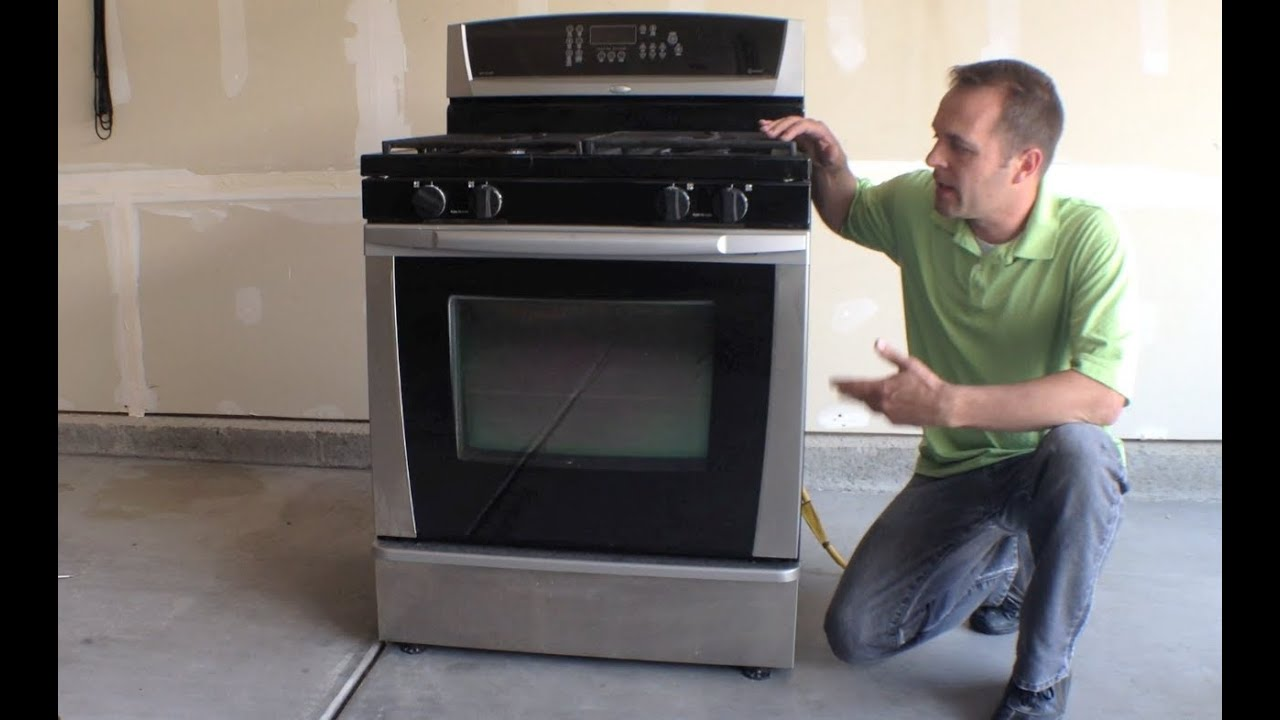 Whirlpool Gas Range Oven Complete Tear Down Youtube