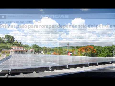First Solar Gas Station in Puerto Rico.wmv