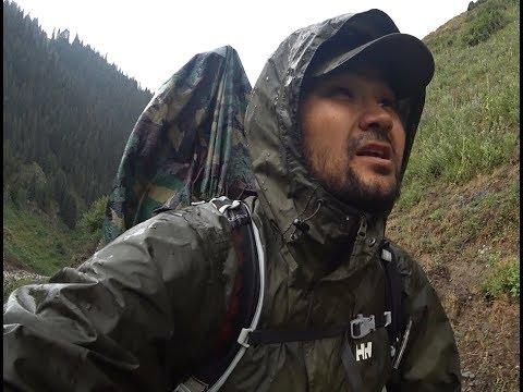 Один в походе. Немного рыбалки. Сары-Челек - Алатай - Чолпон-Ата(Токтогул). Кыргызстан 2018.