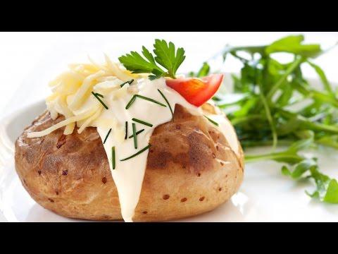 ЗАПЕЧЕННАЯ КАРТОШКА С НАЧИНКОЙ | Potato House | ПРОСТЫЕ РЕЦЕПТЫ - ГОТОВЯТ ДЕТИ