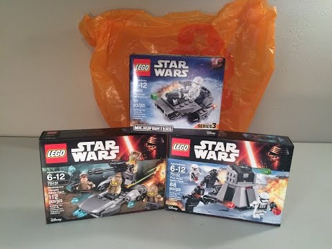 LEGO Star Wars 2016 Sets Haul From Toys R' Us! (LEGO 75126. 75131. 75132)