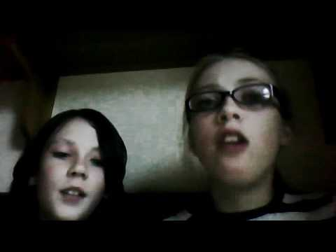 angel and kitkat (zoe and katie) cover of your song