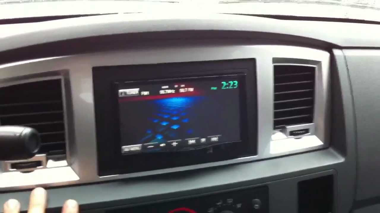 2008 Dodge Ram 2500 Diesel Jvc Kw Avx840 Double Din Camera