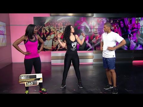 MELIZA FERNANDEZ SHOWS US THE VIXEN WORK OUT!