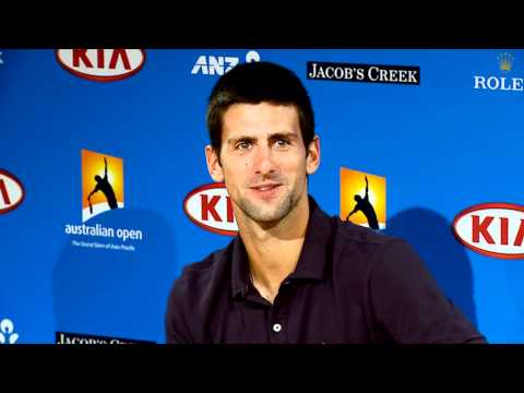 Novak Djokovic pre-final press conference: Australian Open 2011