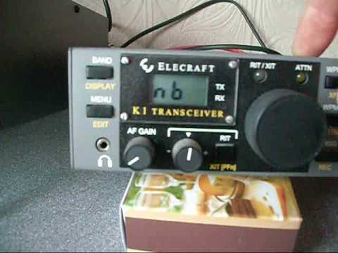 Elecraft K1 review by G0VQW.wmv