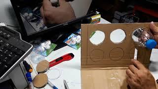 Đồ chơi ABO - Hướng dẫn làm Khung thành Người Hùng Sân Cỏ GGO 2 tại nhà