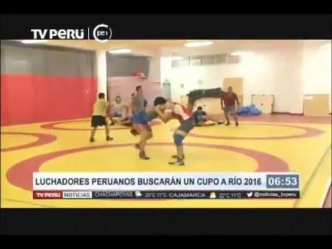 Luchadores peruanos buscarán un cupo a Río 2016