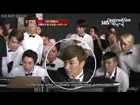 Engsub 120903 K-star News Super Junior Spy video