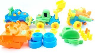 Learn Colors With Train For Kids   Train Assembly Video for Kids   Education Videos For Kids
