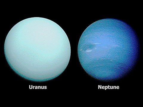 Уран и Нептун.