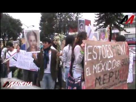 Prepas de Xalapa exigen justicia por Ayotzinapa