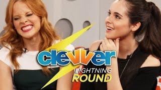 Vanessa Marano & Katie LeClerc: Lightning Round Questions - Harry Potter, Raura