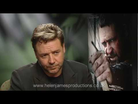 Russell Crowe 'Robin Hood' interview