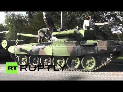 Serbia: Belgrade polishes M-84 tanks ahead of PUTIN visit