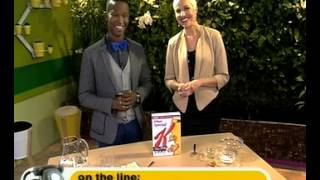 Kellogg's Special K: Celeb of The Day & New oats and honey Special K (02.07.2012)