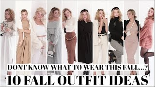 10 FALL OUTFIT IDEAS! What to Wear this Fall 2019!
